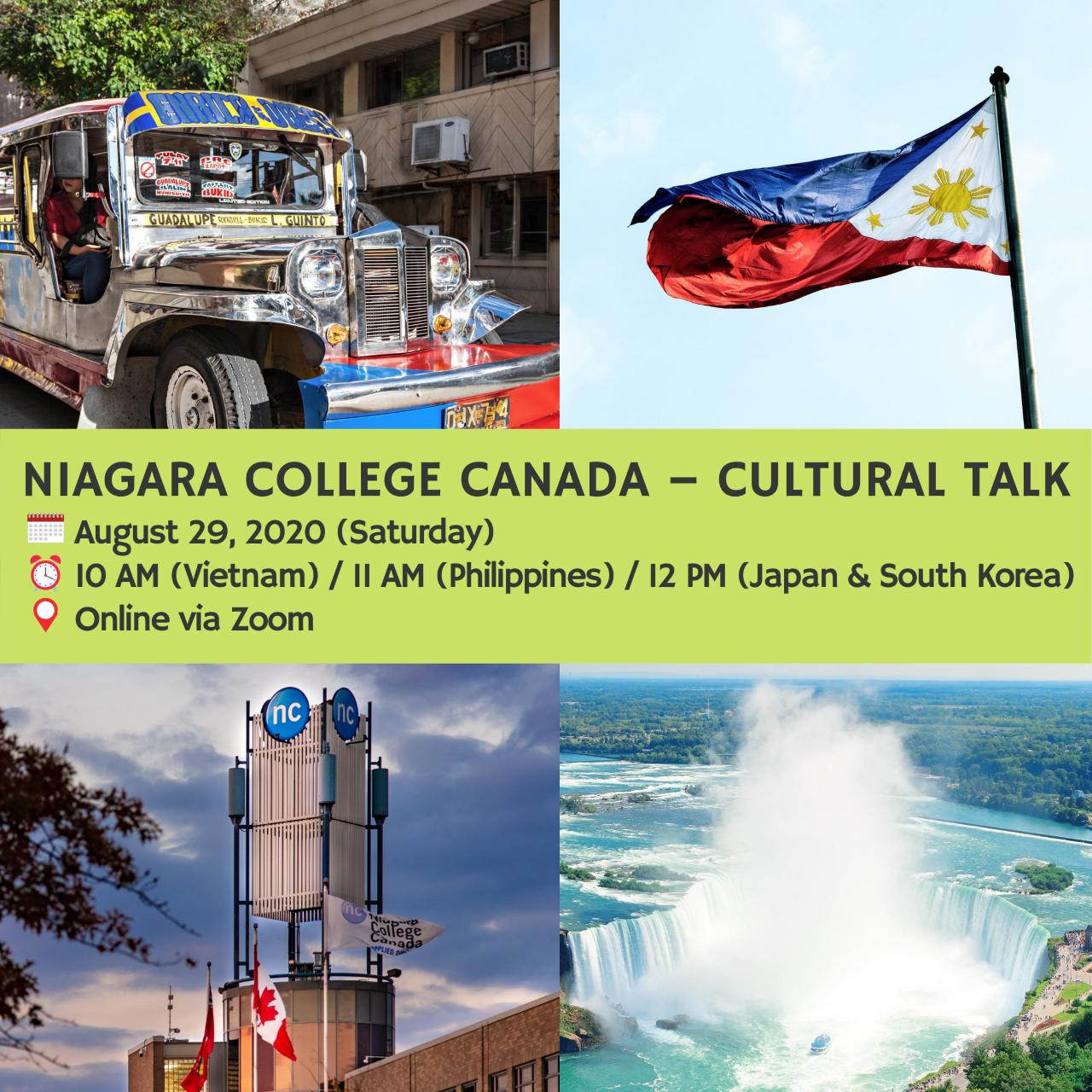 Niagara College Canada – Cultural Talk